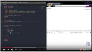 Tutorial Pemrograman Vue js : directive v text, v html dan v once