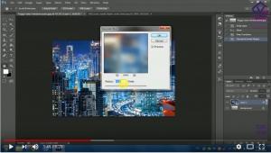 Tutorial Membuat Teks Efek Hujan Menggunakan Adobe Photoshop